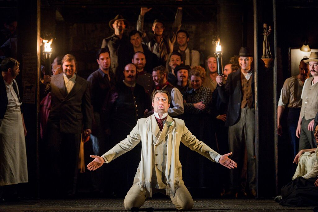 David Soar as Escamillo in Glyndebourne Carmen