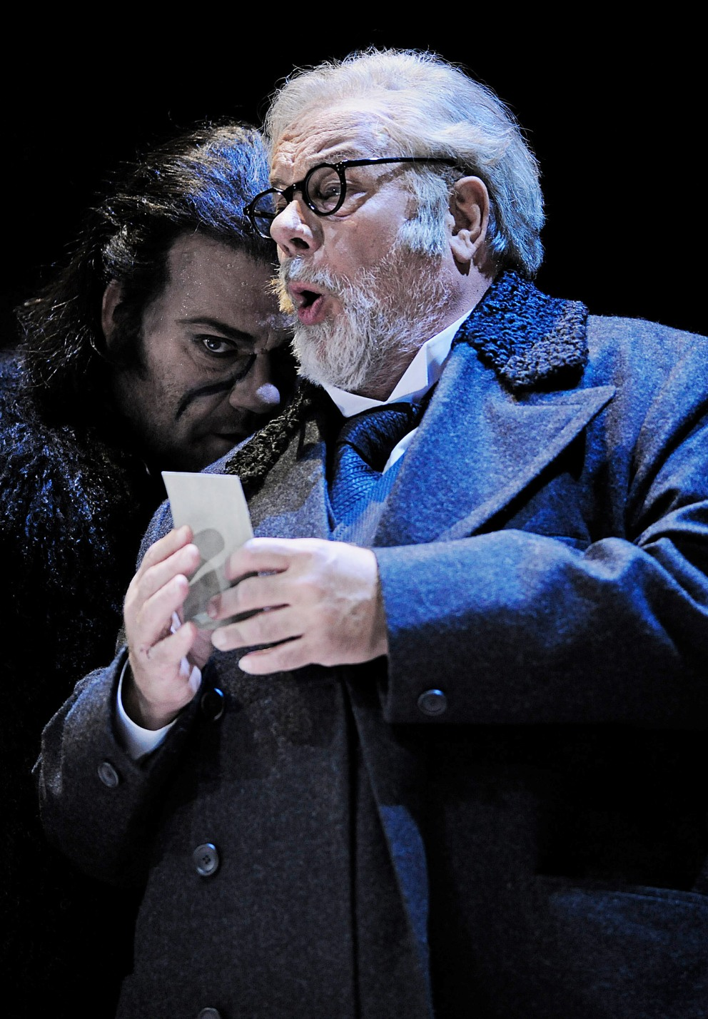 Matti Salminen and Bryn Terfel in the Zurich production of The Flying Dutchman
