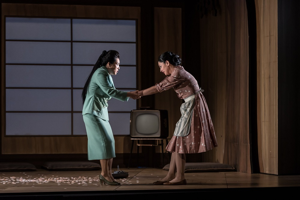 Scene from Act 2 of Glyndebourne Madama Butterfly