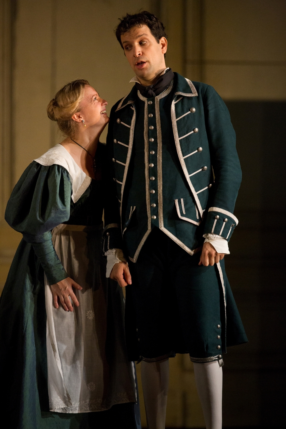 Lucy Crowe and Luca Pisaroni in the Royal Opera Figaro