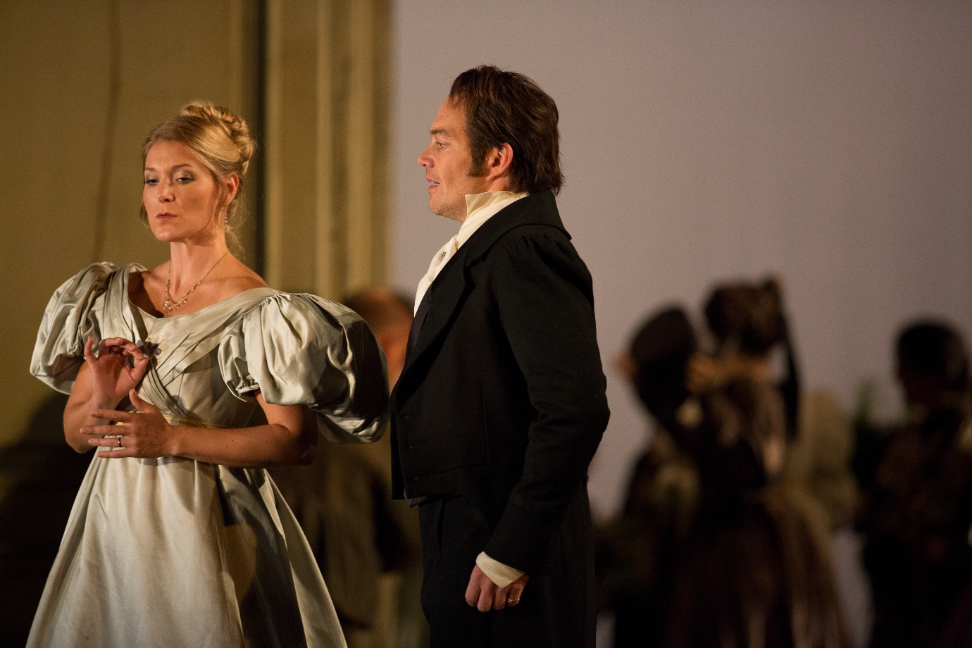 Maria Bengtsson and Christopher Maltman in the Royal Opera Figaro
