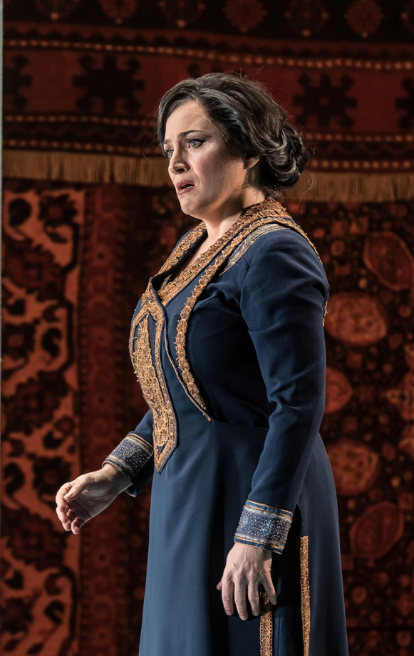Patricia Racette in ENO's Lady Macbeth of Mtsensk