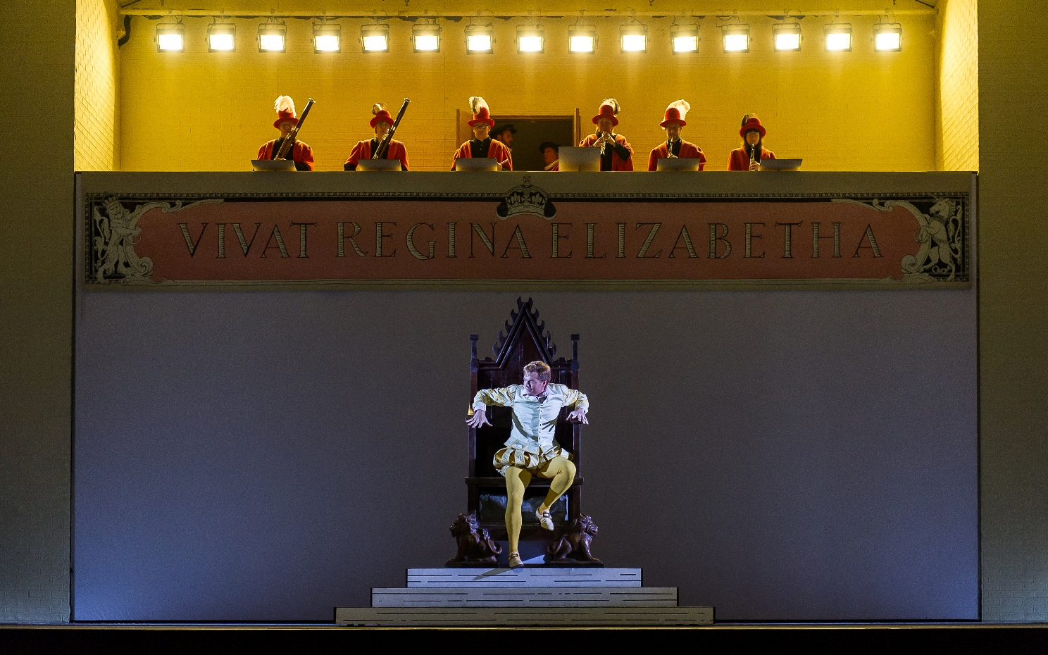 Toby Spence as Essex in the Royal Opera Gloriana