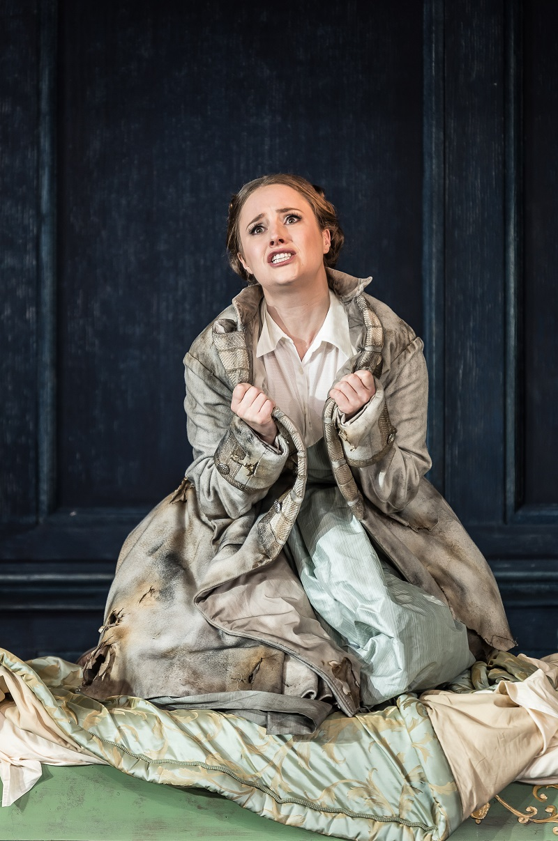Louise Alder as Ilia at Garsington