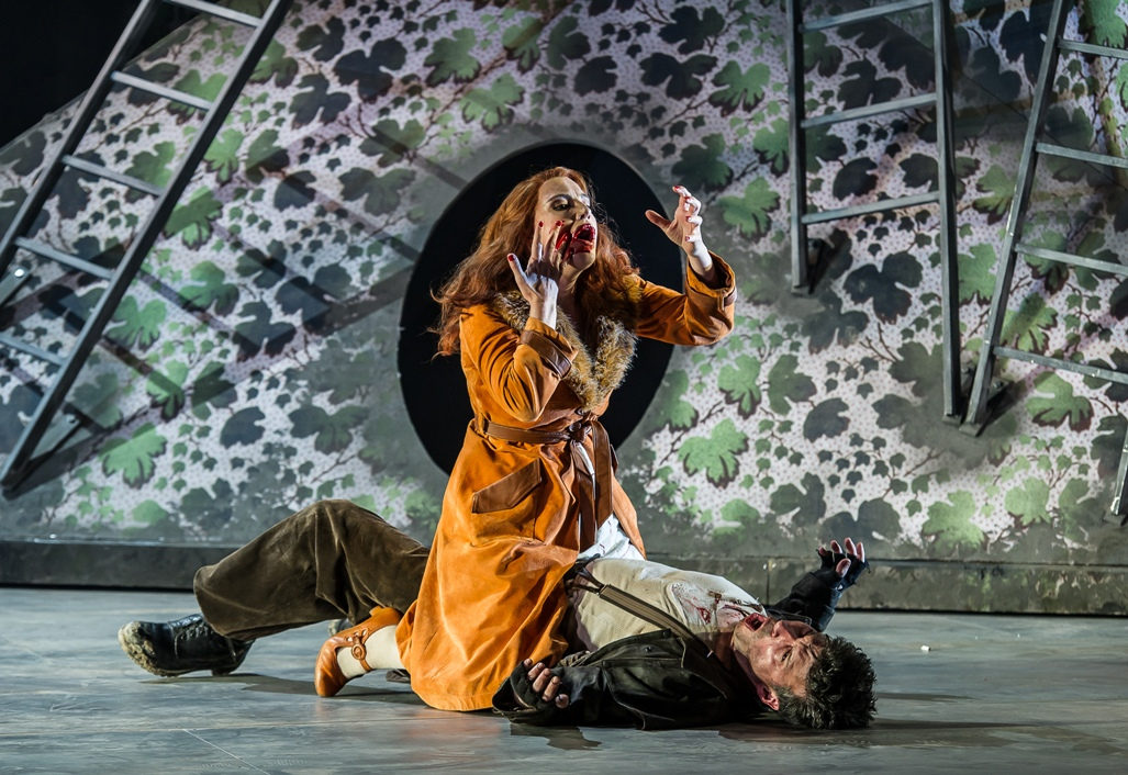 Claire Booth and Joshua Bloom in Garsington Cunning Little Vixen