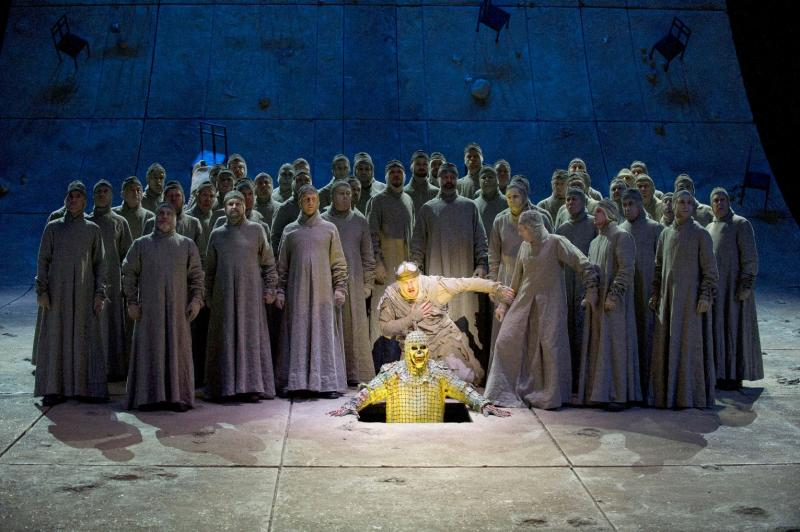 Scene from Wagner's Parsifal at ENO