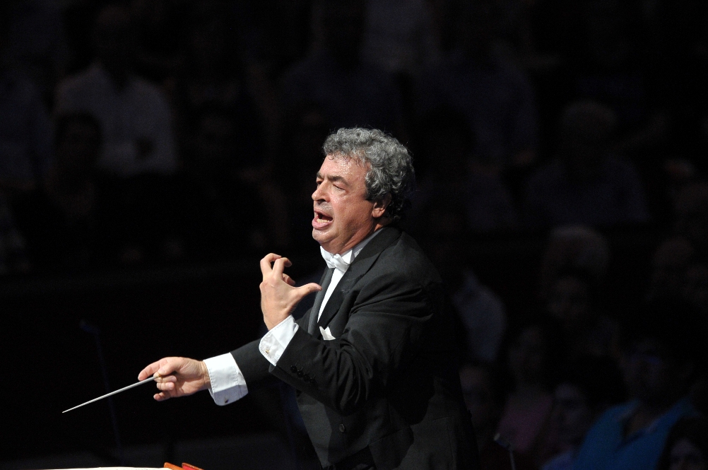 Semyon Bychkov at the 2013 Proms by Chris Christodoulou