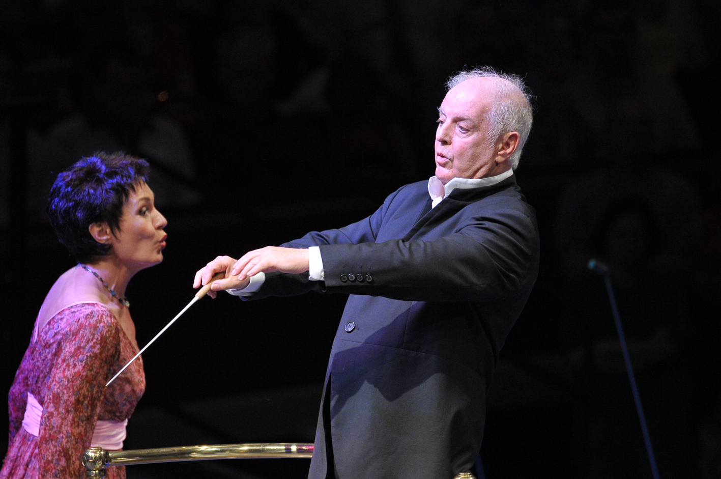Daniel Barenboim conducts Waltraud Meier in the 2013 Proms