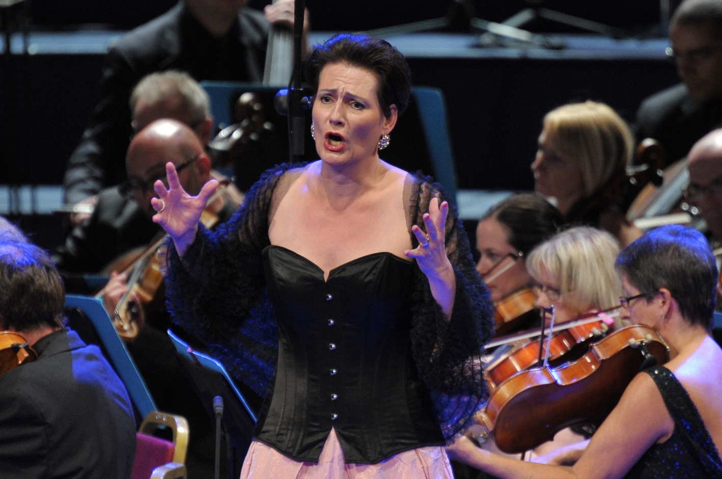 Daniela Sindram as Venus in the Proms Tannhauser