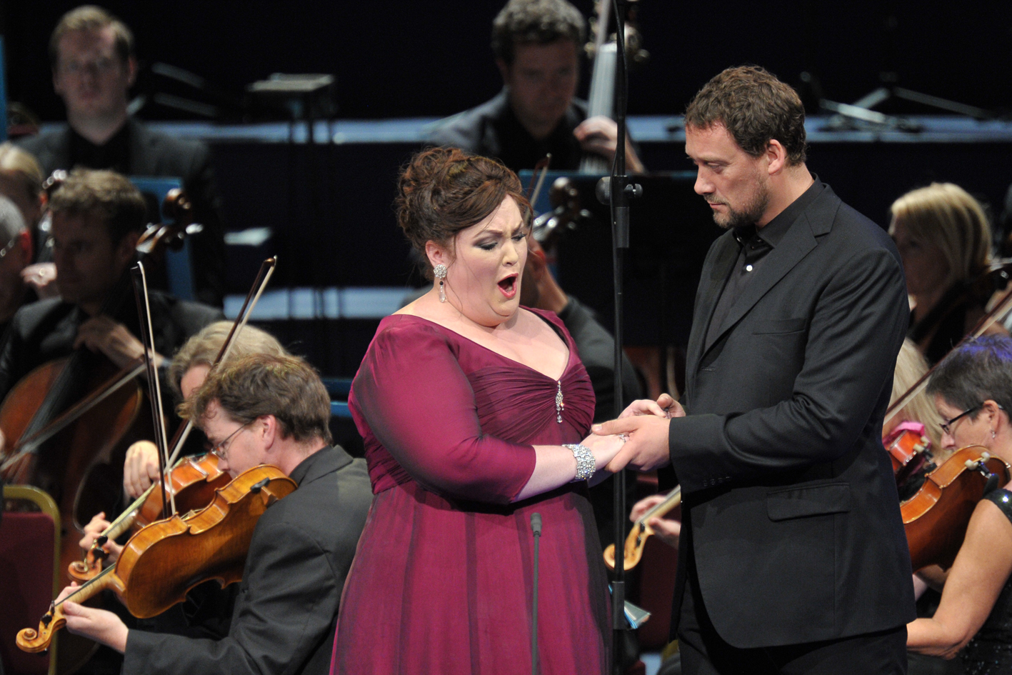 Heidi Melton and Ain Anger in the Proms Tannhauser