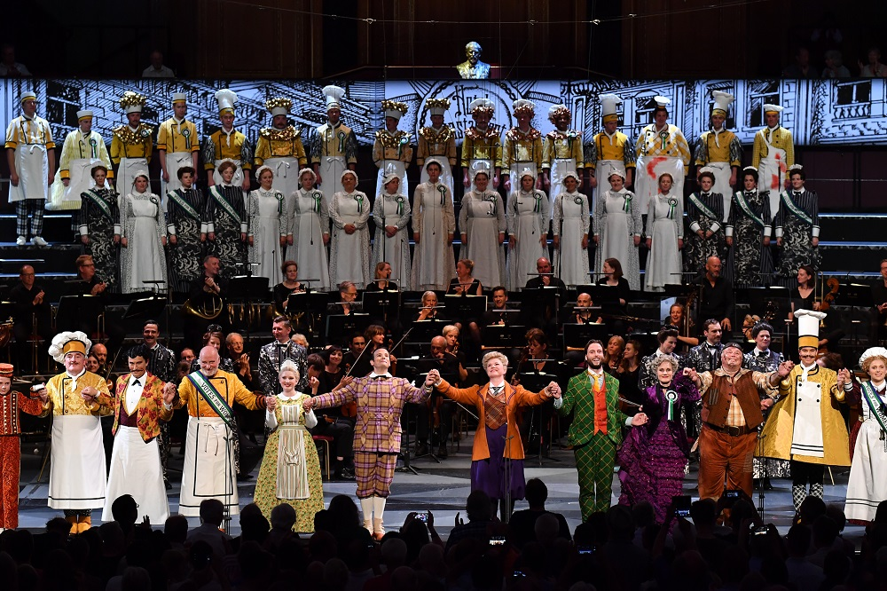 Curtain call for Proms Magic Flute