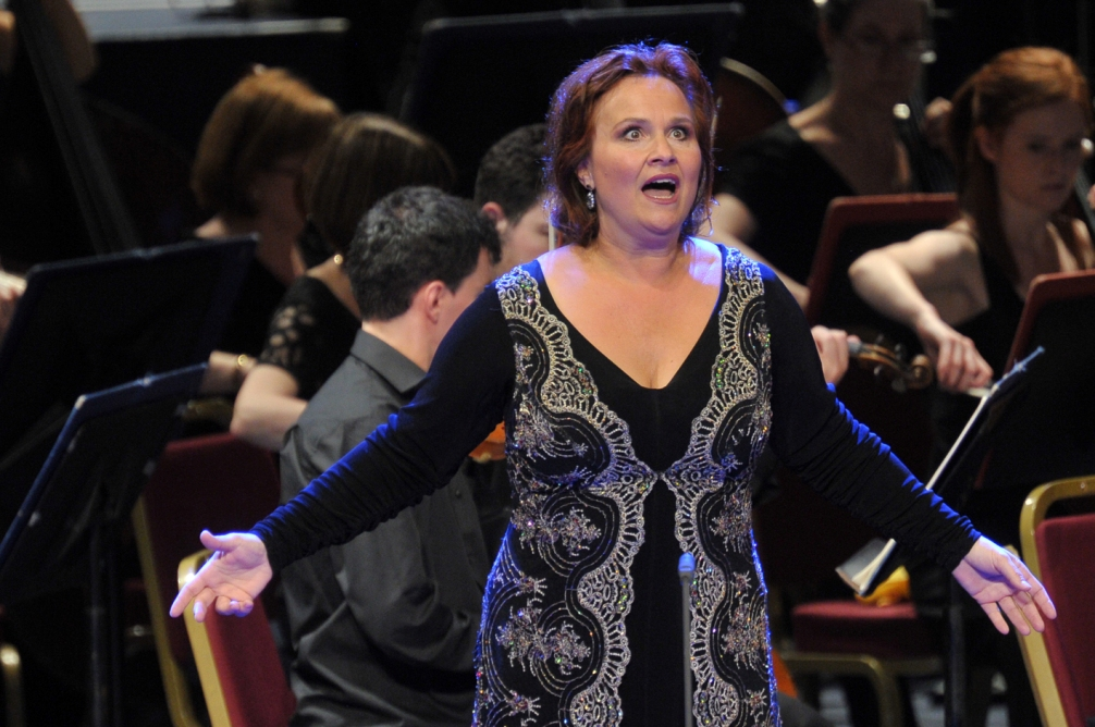 Katarina Dalayman as Kundry in the Proms Parsifal by Chris Christodoulou
