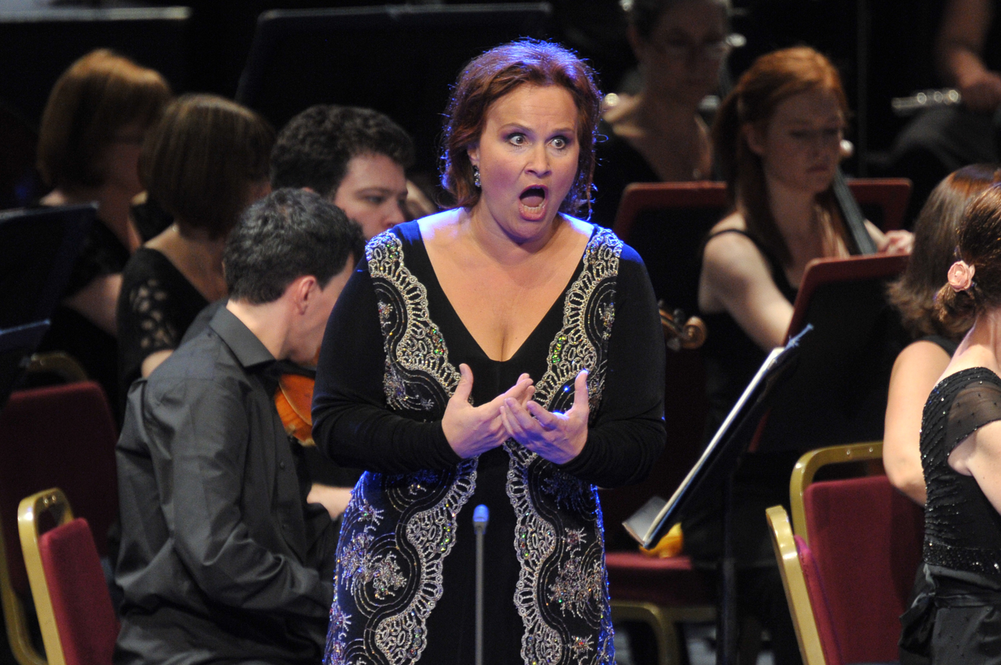 Katarina Dalayman at the 2013 Proms by Chris Christodoulou
