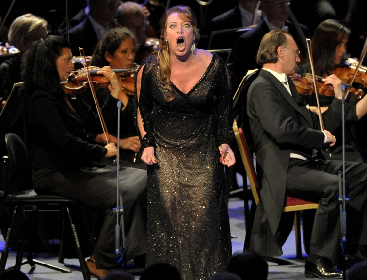 Nina Stemme as Salome at the Proms