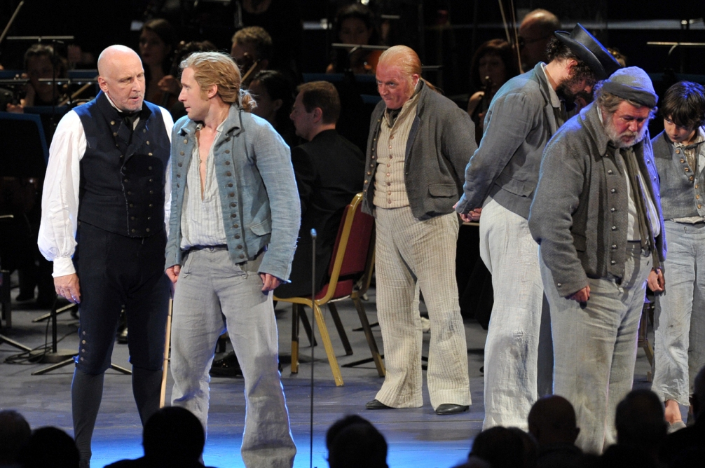 A scene from the Proms Billy Budd by Chris Christodoulou