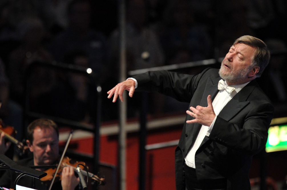 Sir Andrew Davis conducting Billy Budd at the Proms by Chris Christodoulou