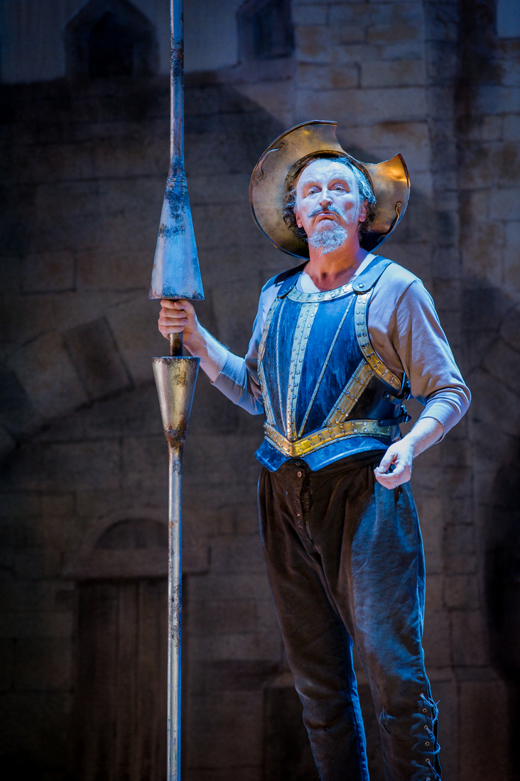 Clive Bayley as Don Quichotte