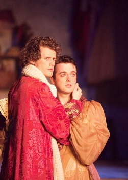 Shaun_McCourt_as_Lord_Chancellor_and_Christopher_Finn_as_Iolanthe_in_IOLANTHE_credit_Kay_Young_untouched
