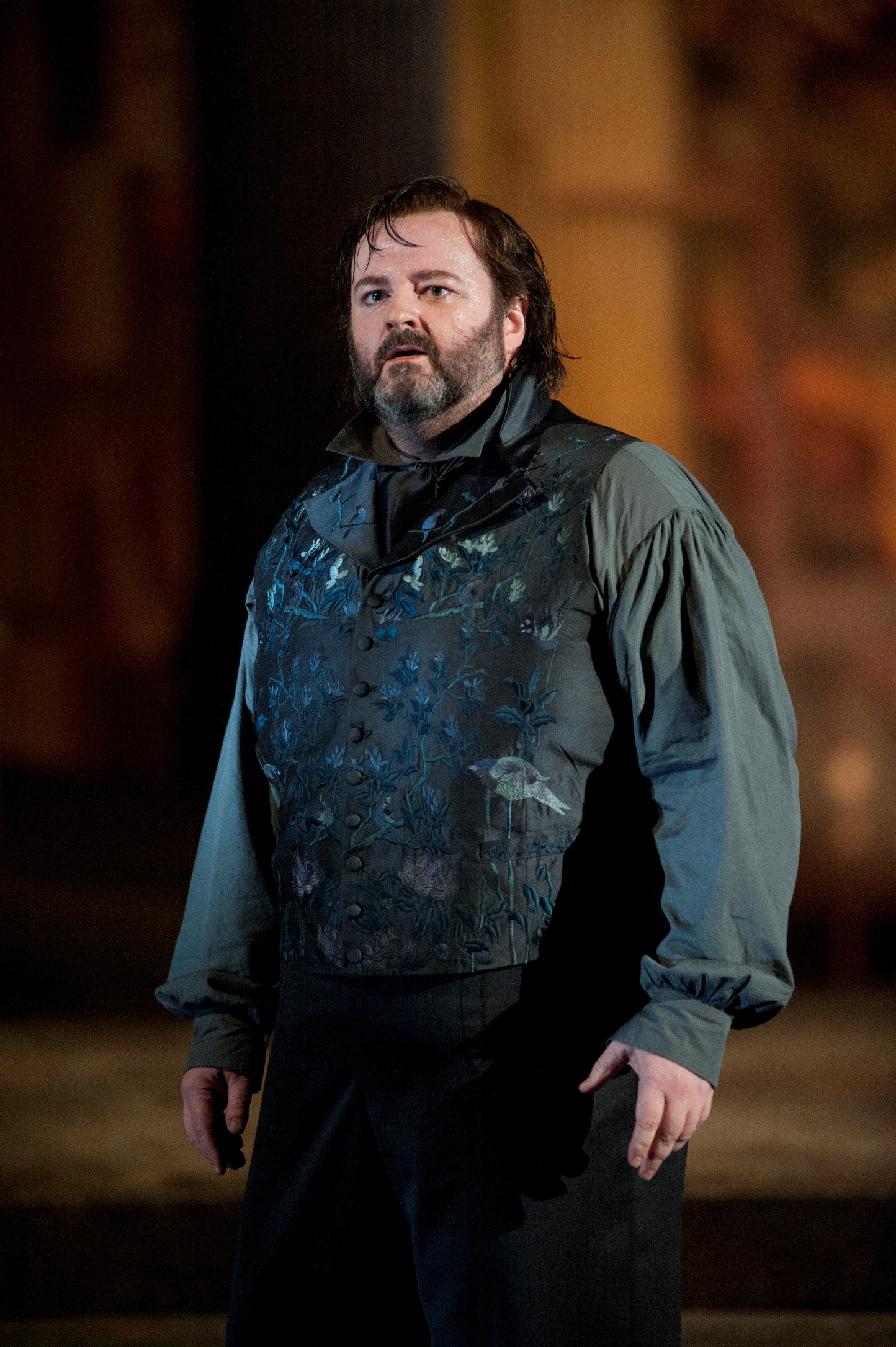 Gwyn Hughes Jones as Cavaradossi in ENO's Tosca