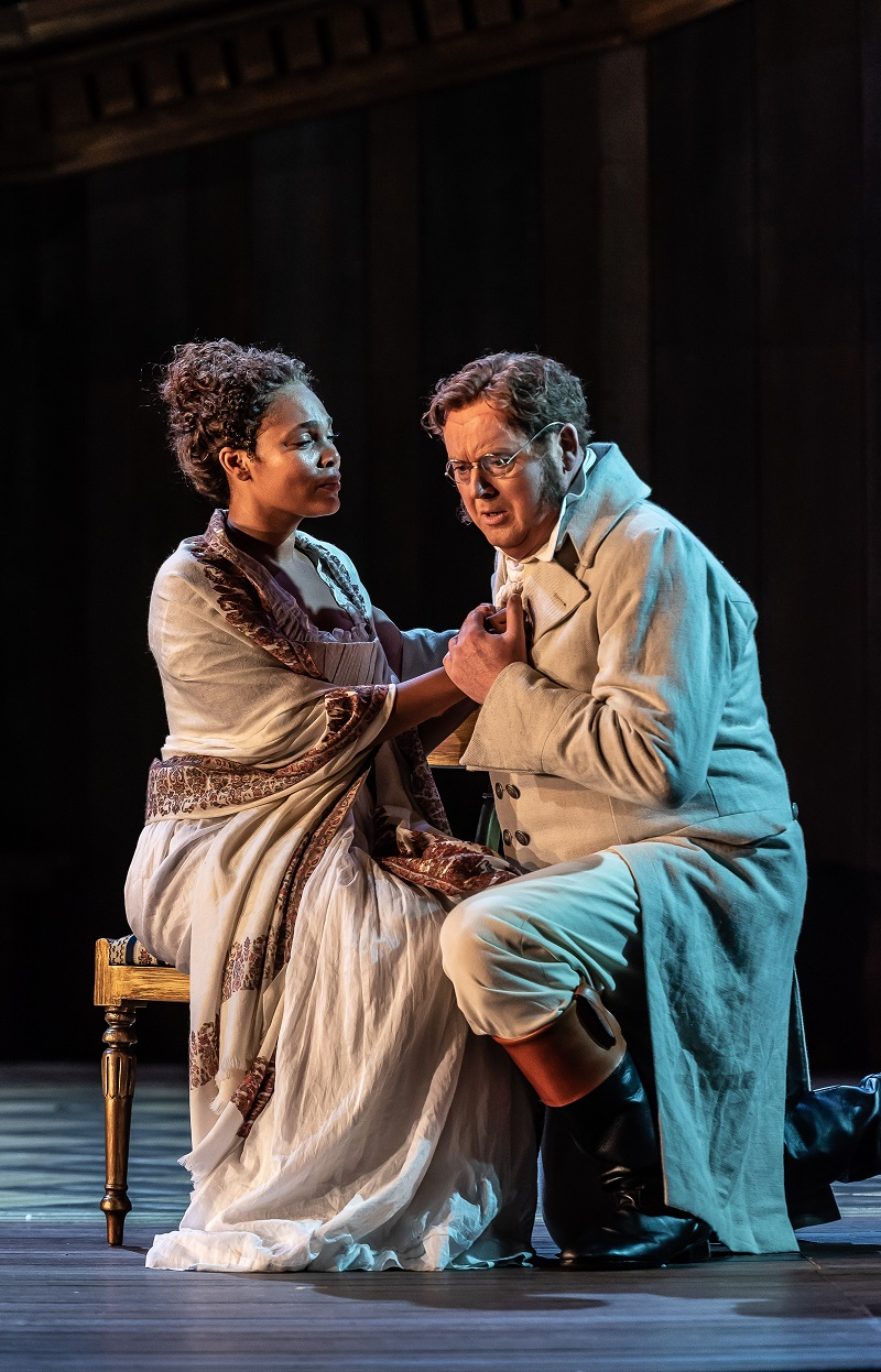 Lauren Michelle and Mark LeBrocq in War and Peace