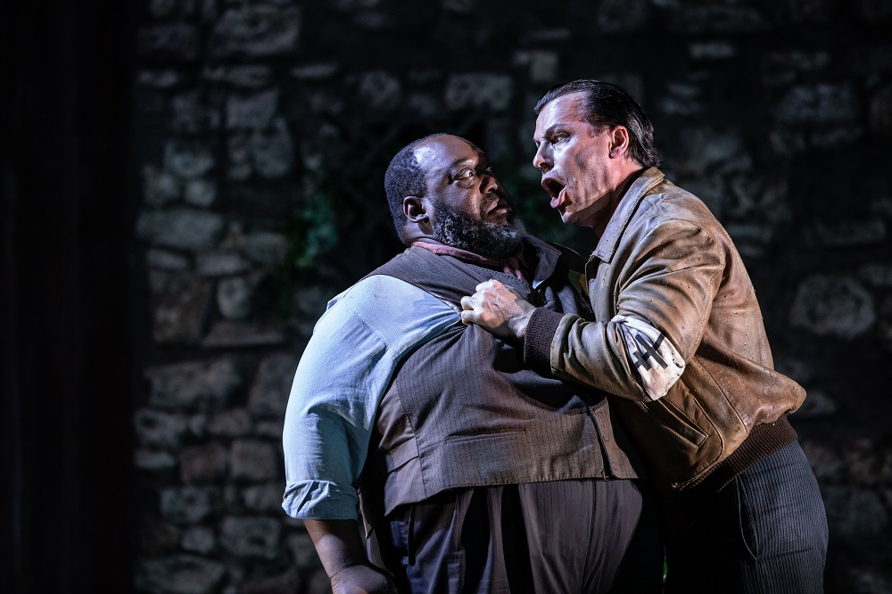 Keel Watson and  Simon Wilding in L'Arlesiana