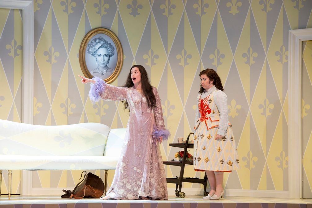 Tara Erraught and Kate Royal in Glyndebourne Rosenkavalier