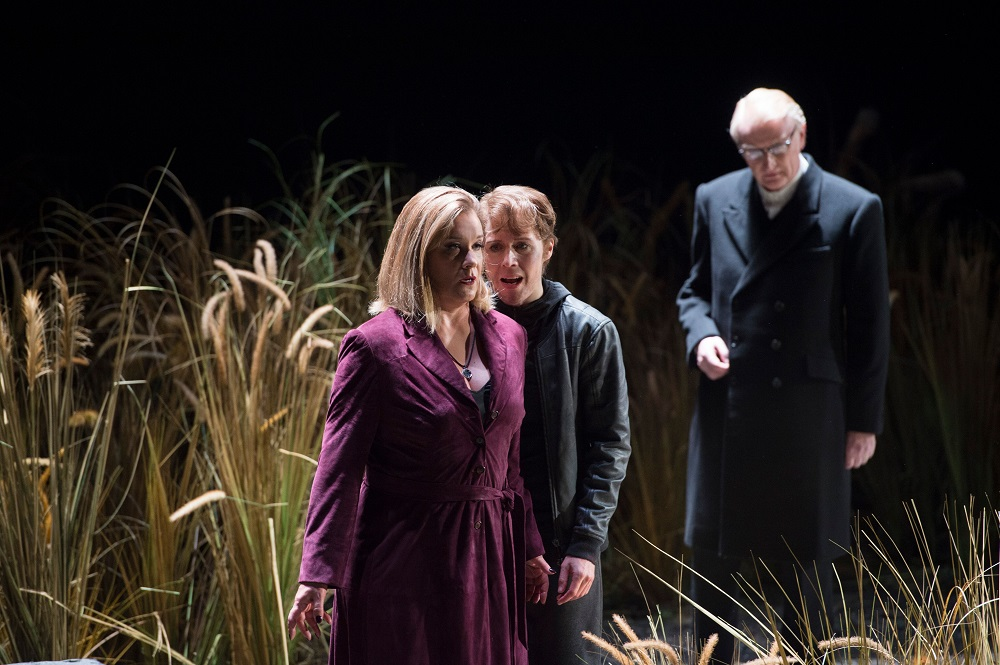 Alice Coote, Anna Stephany and Clive Bayley in Glyndebourne Clemenza