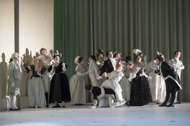 Act Three in Glyndebourne Eugene Onegin