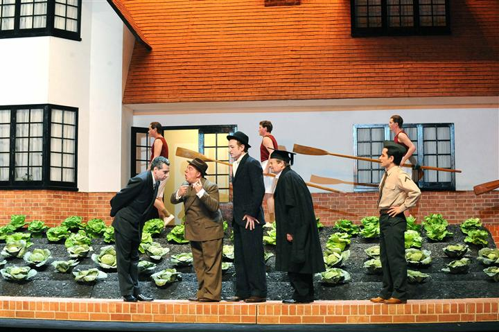 Richard Jones's production of Falstaff at Glyndebourne by Mike Hoban
