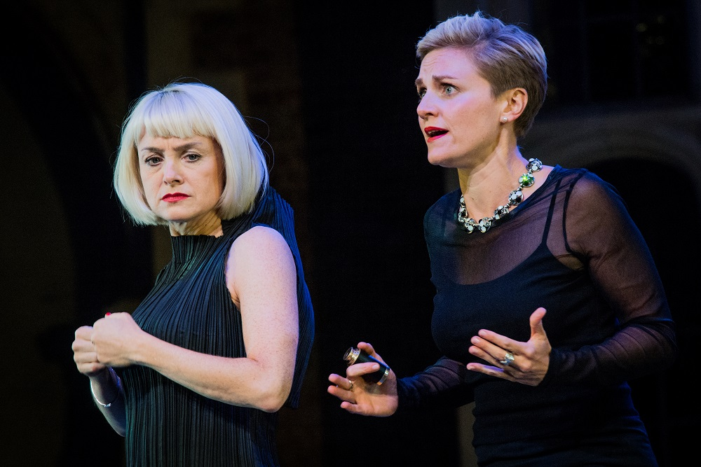 Gillian Keith and Caroline McPhie in Constellations