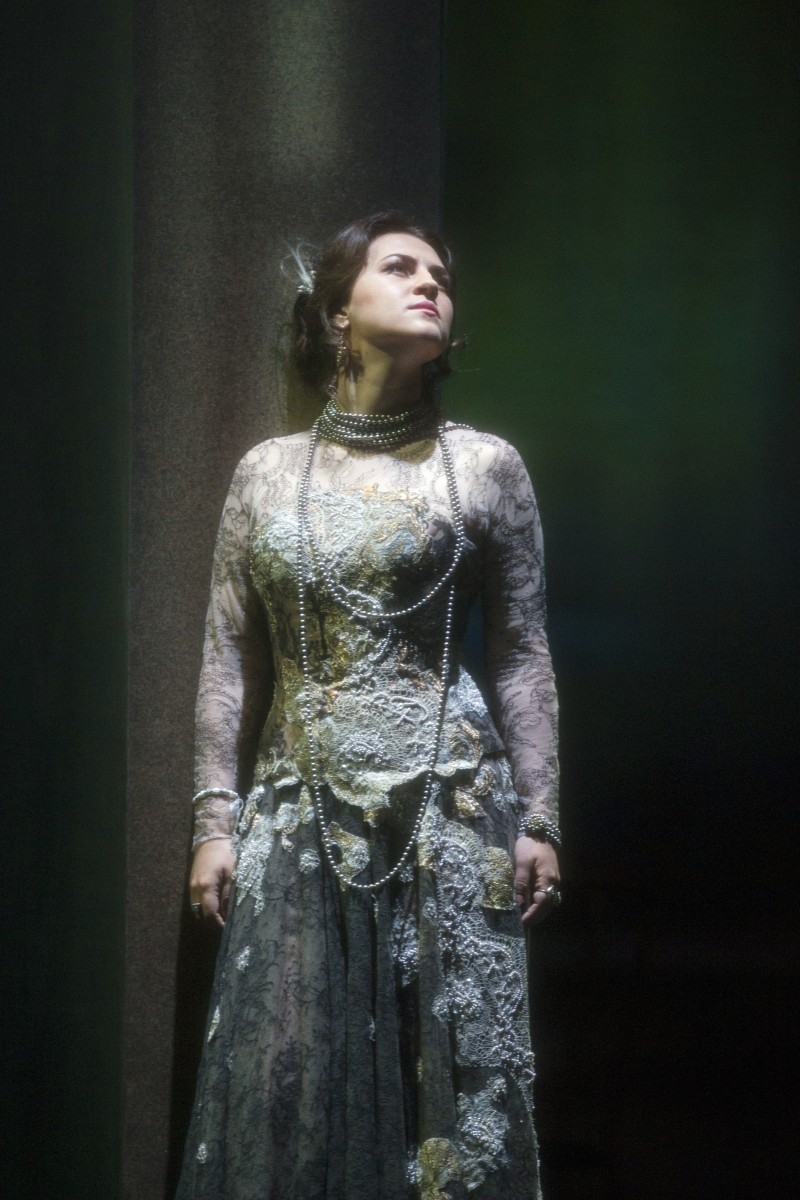 Venera Gimadieva as Violetta in the Glyndebourne Traviata