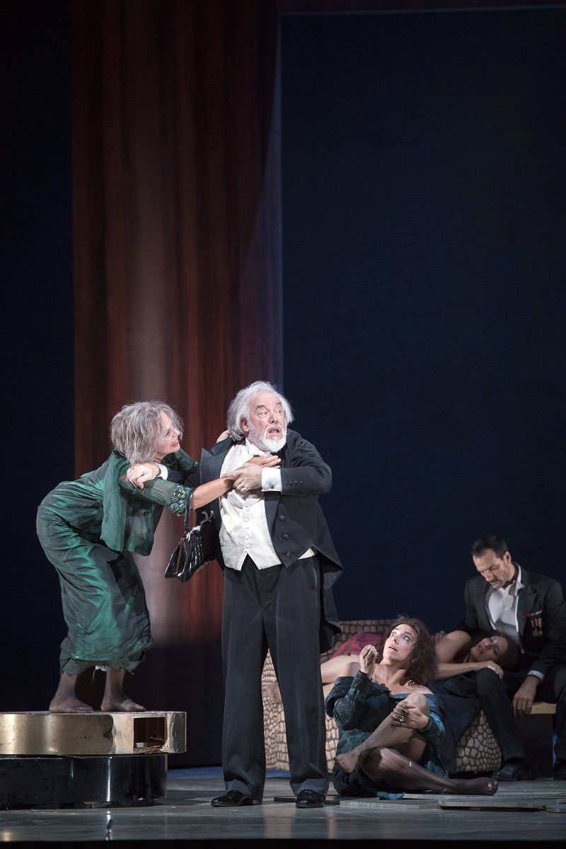 Anne Sofie von Otter and John Tomlinson in The Exterminating Angel