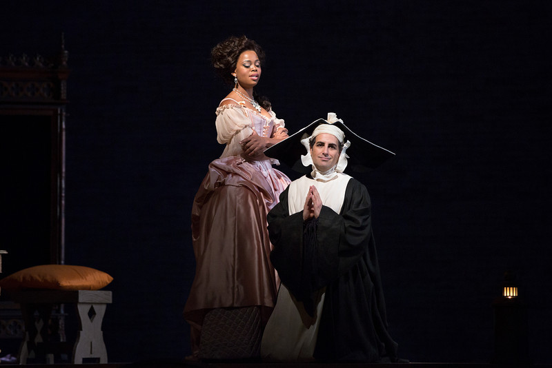 Prette Yende and Juan Diego Florez in Le Comte Ory at the Met