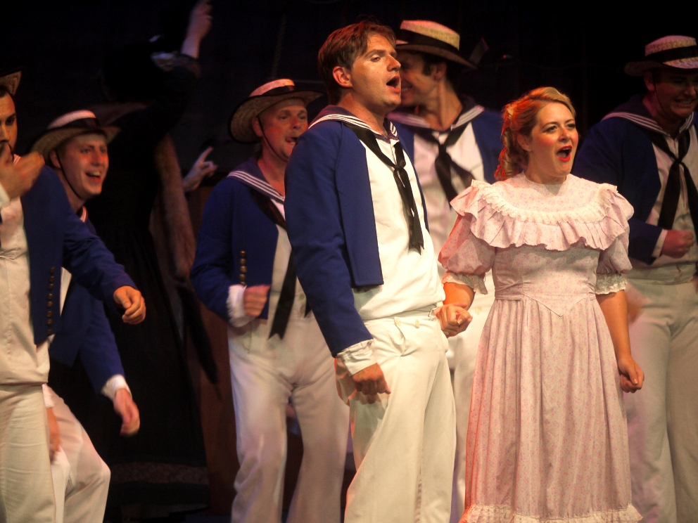 Scene from HMS Pinafore
