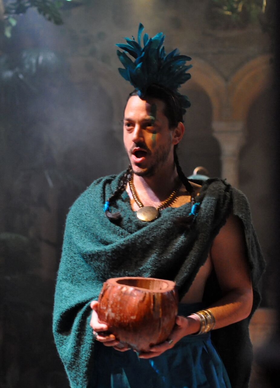 Benjamin Kahn as Sarastro in Charles Court Opera's Magic Flute