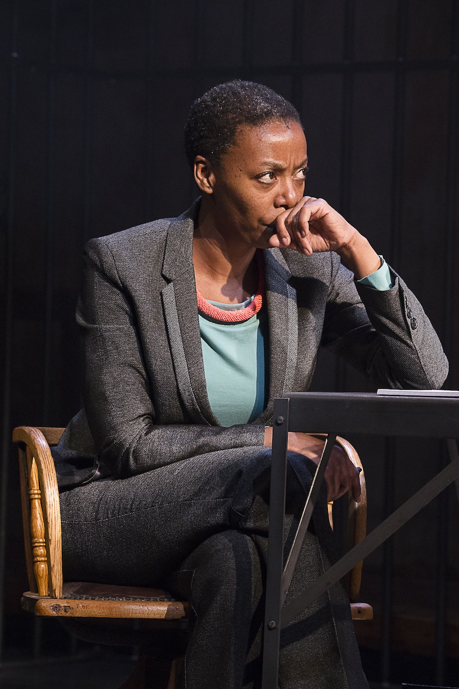 Noma Dumezweni as Pumla Gobodo-Madikizela in 'A Human Being Died That Night'