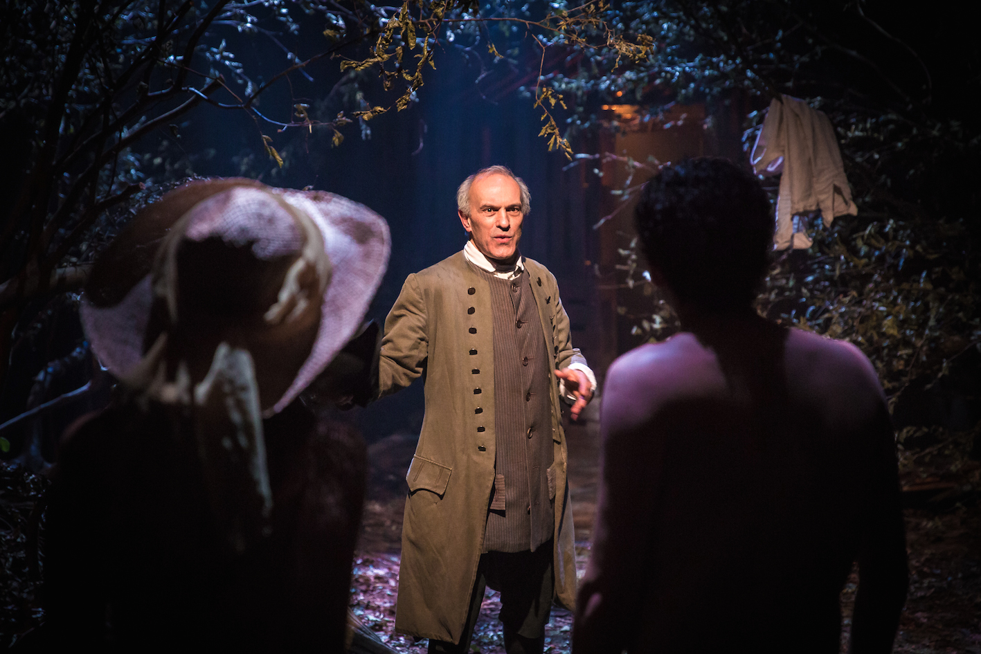 Christopher Hunter as Thomas Paine in 'In Lambeth'