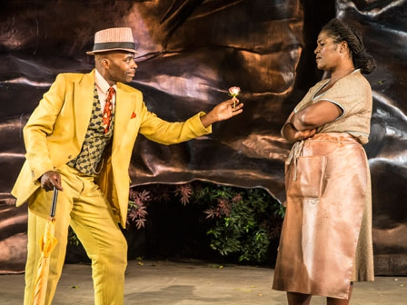 Sharon D Clarke as Mariah and Cedric Neal as Sporting Life at Regents Park