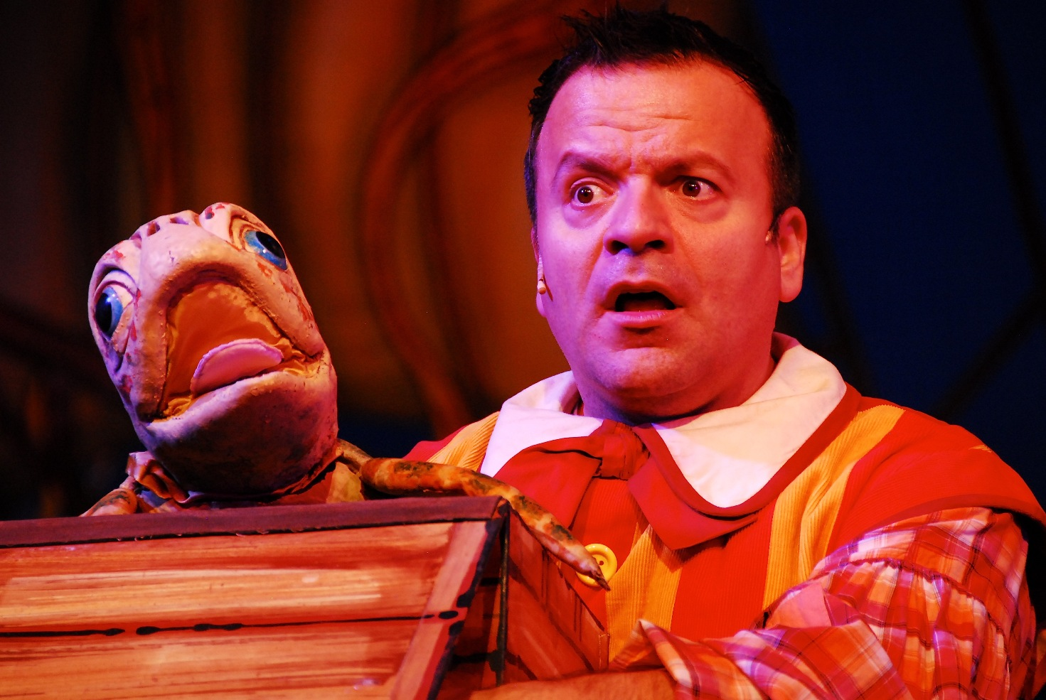 Kev Orkian as Idle Jack in Dick Whittington