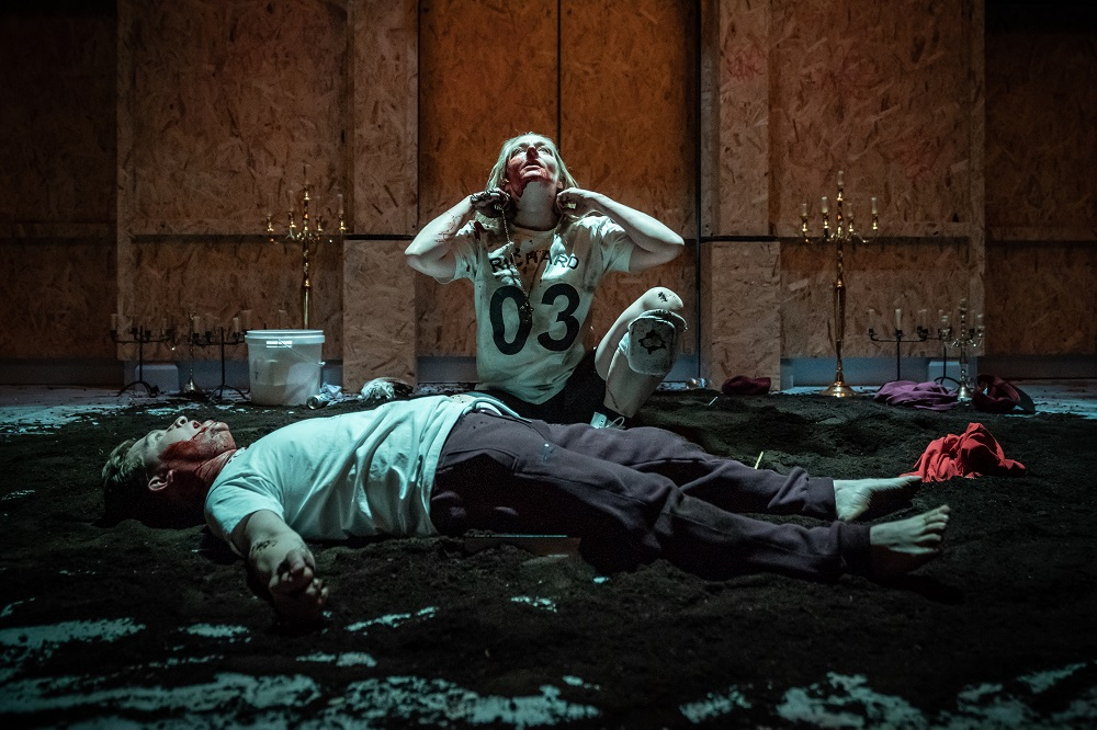 Sophie Russell and Jonathan Broadbent in Henry VI