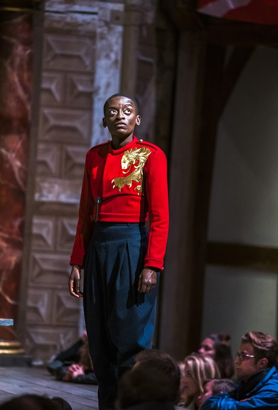 Sarah Amankwah as Hal in Henry IV Part One