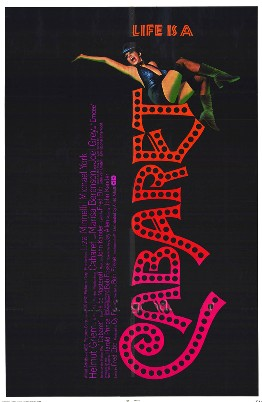 Cabaret poster from 1972