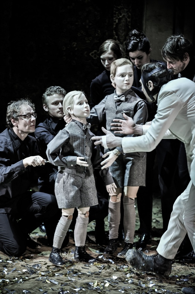 Scene from Schaubuhne Richard III