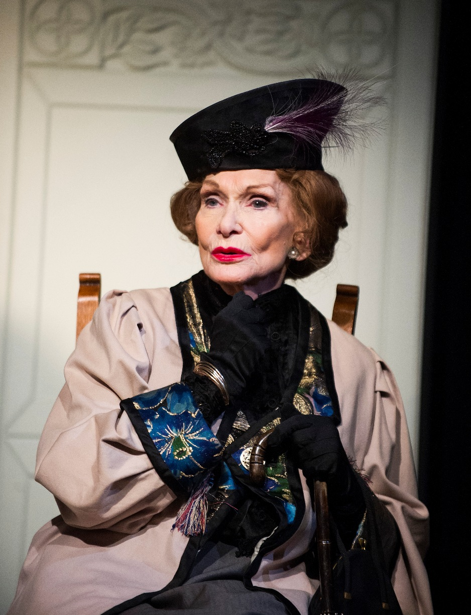 Sian Phillips as Lady Bracknell