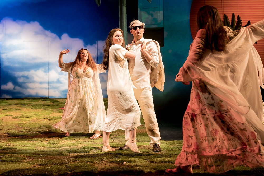 Scene with Anitra in Peter Gynt