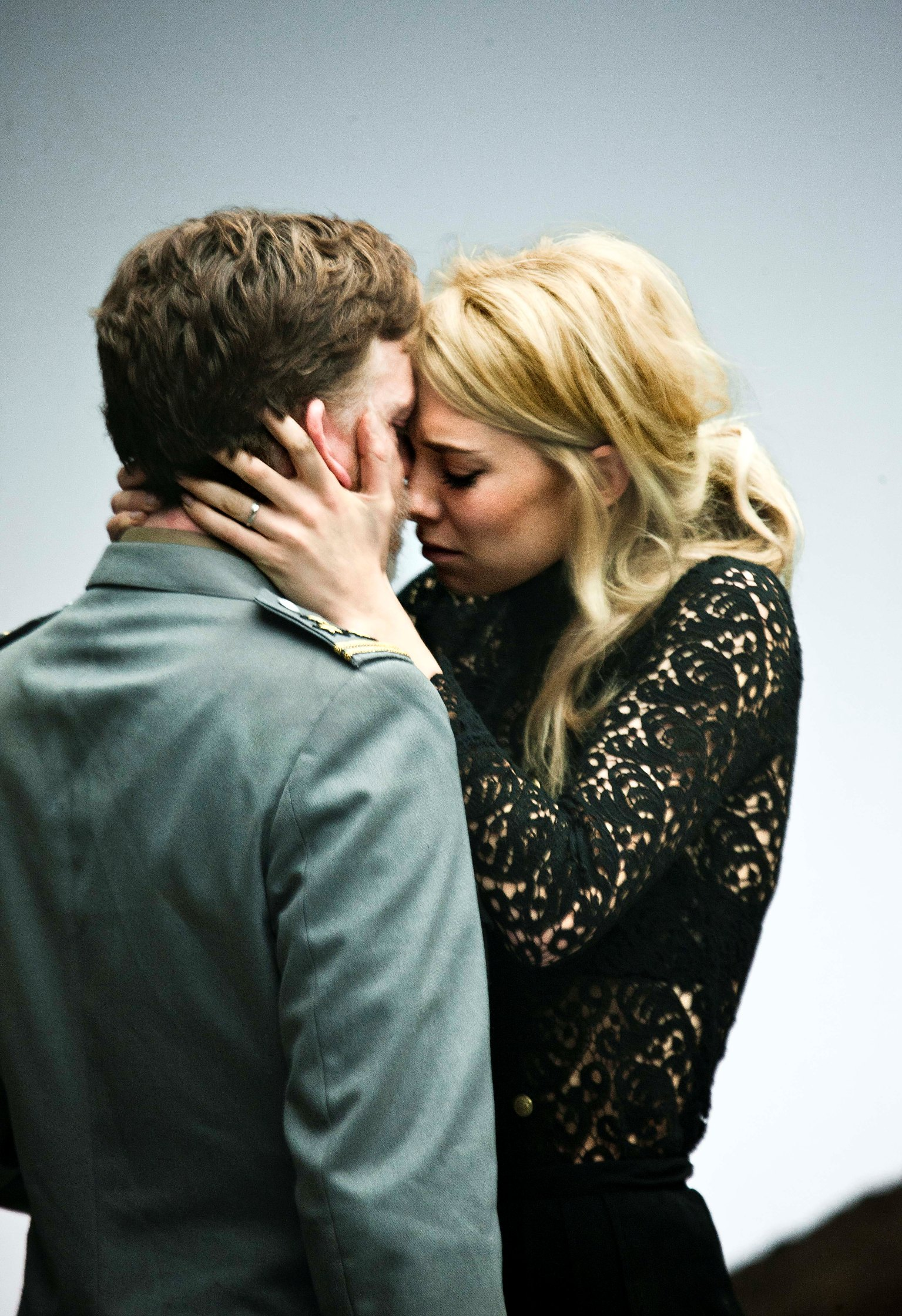 William Houston as Vershinin and Vanessa Kirby as Masha in the Young Vic production of Three Sisters