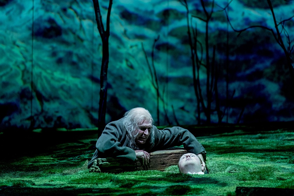 Shipwreck Scene from Peter Gynt