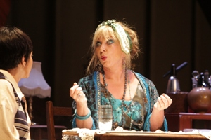Helen Lederer as Madam Xenia in The Killing of Sister George