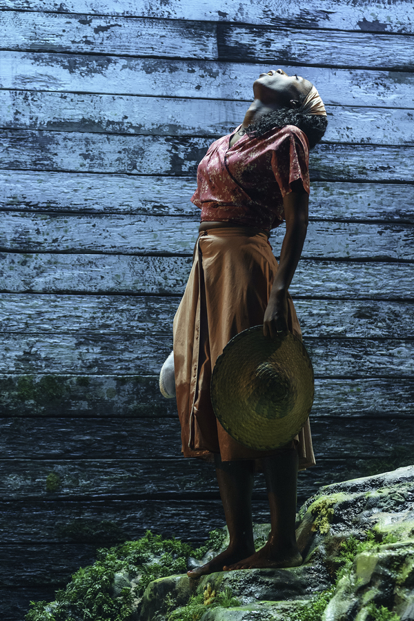 Nikki Amuka-Bird as Ellida in The Lady from the Sea