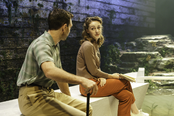Helena Wilso and Tom Mckay in The Lady from the Sea